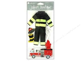 stickers: Jolee's Boutique Stickers Large Firefighter