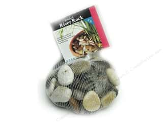 decorative floral: Panacea Decorative River Rock 2 lb. Assorted Colors