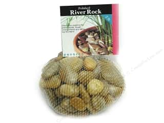 River Rocks: Panacea Decorative River Rock 2 lb. Yellow