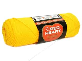 yarn: Red Heart Classic Yarn 190 yd. #230 Yellow