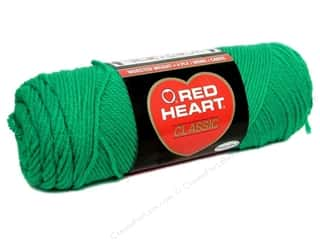 yarn & needlework: Red Heart Classic Yarn #676 Emerald 190 yd.