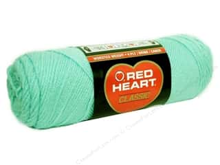 Red Heart Yarn: Red Heart Classic Yarn #681 Mist Green 190 yd.