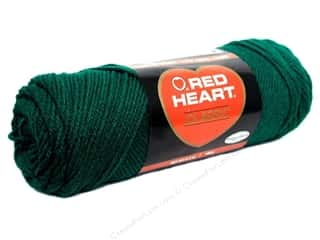 Yarn: Red Heart Classic Yarn 190 yd. #689 Forest Green