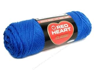 Red Heart Yarn: Red Heart Classic Yarn #848 Skipper Blue 190 yd.