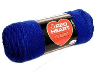 yarn & needlework: Red Heart Classic Yarn 190 yd. #849 Olympic Blue
