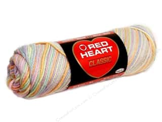 acrylic knitting needle: Red Heart Classic Yarn #951 Tropical Fruits 146 yd.