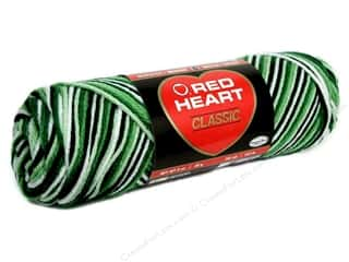 Red Heart Classic Yarn 146 yd. #957 Shaded Greens
