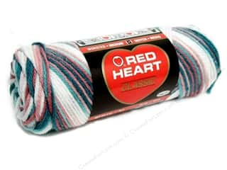 acrylic knitting needle: Red Heart Classic Yarn #963 Rambling Rose 146 yd.
