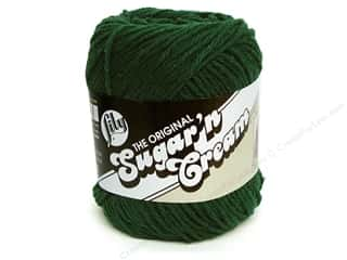 yarn: Sugar 'n Cream Yarn 120 yd. #16 Dark Pine