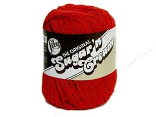 Sugar and Cream: Lily Sugar 'n Cream Yarn  2.5 oz. #95 Red