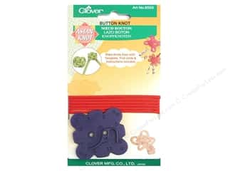 Quilting Supplies Clover: Clover Asian Knot Template Button