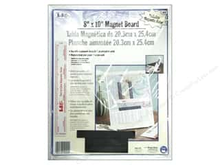 Workboards: Magnet Board With Ruler by LoRan 8 x 10 in.