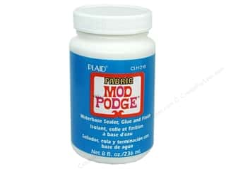 Plaid Mod Podge Fabric 8 oz.