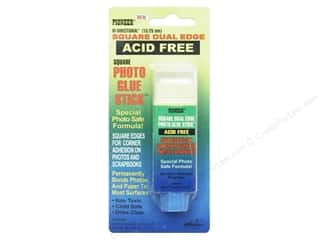 glues, adhesives & tapes: Pioneer Dual Edge Photo Glue Stick .71 oz.