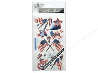 scrapbooking & paper crafts: EK Sticko Stickers Vellum 4th Of July