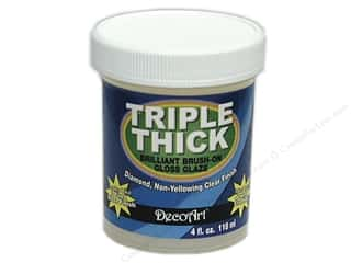 resin: DecoArt Triple Thick Gloss Glaze 4 oz. Jar