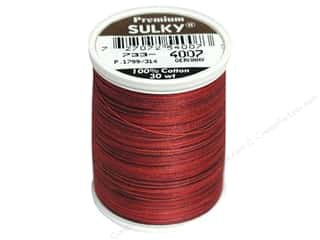 Sulky Blendables Cotton Thread 30 wt. 500 yd. #4007 Red Brick
