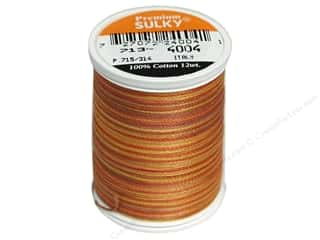 Sulky Blendables Cotton Thread 12 wt. 330 yd. #4004 Golden Flame