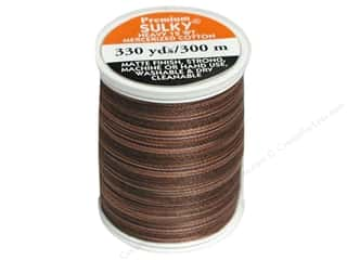 Sulky Blendables Cotton Thread 12 wt. 330 yd. #4011 Milk Chocolate