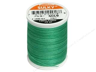Sulky Blendables Cotton Thread 12 wt. 330 yd. #4018 Summer Grass