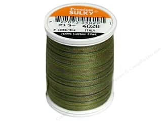 Sulky Blendables Cotton Thread 12 wt. 330 yd. #4020 Moss Medley