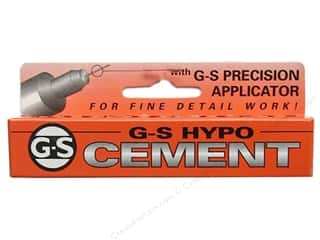 glues, adhesives & tapes: Beadalon G-S Hypo Cement 1/3 oz.