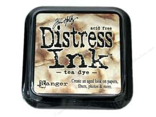 Tim Holtz Distress Ink: Tim Holtz Distress Ink Pad by Ranger Tea Dye