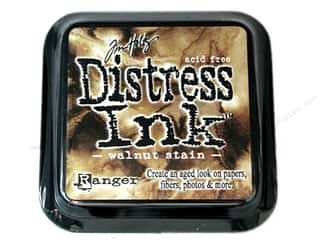 stamps: Tim Holtz Distress Ink Pad by Ranger Walnut Stain