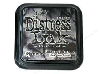 Tim Holtz Distress Ink: Tim Holtz Distress Ink Pad by Ranger Black Soot