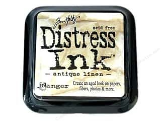 Tim Holtz Distress Ink: Tim Holtz Distress Ink Pad by Ranger Antique Linen