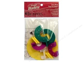 Fringe Makers / Tassel Makers / Pom Pom Makers: Susan Bates Pom-Pom Maker Easy Wrap