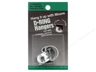 Moore Hardware D Ring Large 1 Screw 2pc