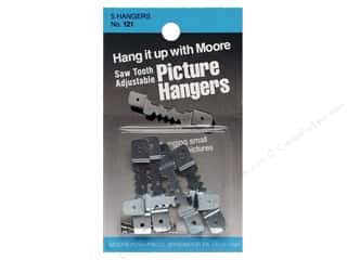 Moore Picture Hangers Saw Tooth with Nails Small 5pc