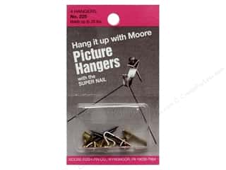 craft & hobbies: Moore Picture Hangers with Super Nail 20lb 4pc