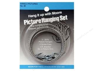 Moore Picture Hanging Kit (Two Pictures)