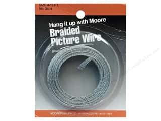 Moore Braided Picture Wire 20 Strand 15'