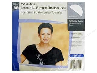 sewing & quilting: Covered All Purpose Shoulder Pads by Dritz 1/4 in. White