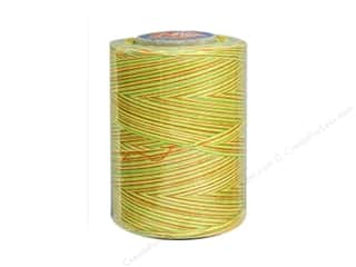 Coats & Clark Star Variegated Mercerized Cotton Quilting Thread 1200 yd. #814 Citrus