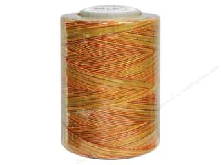 mettler mercerized cotton thread: Coats & Clark Star Variegated Mercerized Cotton Quilting Thread 1200 yd. #821 Fall Leaves