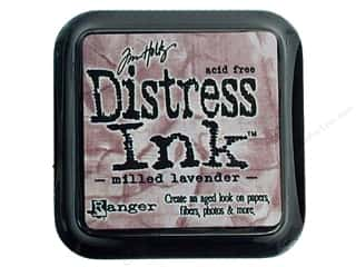 stamps: Tim Holtz Distress Ink Pad by Ranger Milled Lavender
