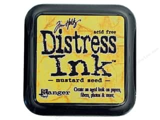 stamps: Tim Holtz Distress Ink Pad by Ranger Mustard Seed