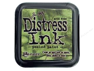 stamps: Tim Holtz Distress Ink Pad by Ranger Peeled Paint