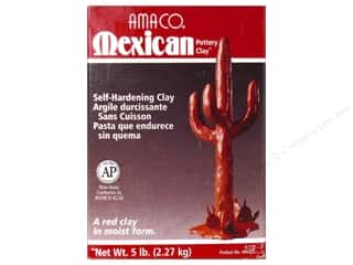 Amaco Mexican Pottery Clay 5 lb.