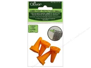 yarn & needlework: Clover Jumbo Point Protectors Small 4 pc.