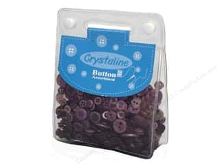 cover button: Dara Crystaline Button Assortment Purple