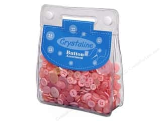 cover button: Dara Crystaline Button Assortment Light Pink