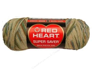 Red Heart Super Saver Yarn 236 yd. #0305 Aspen Print