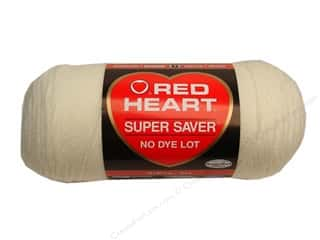 yarn & needlework: Red Heart Super Saver Yarn #0316 Soft White 364 yd.