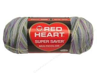 Red Heart Super Saver Yarn 236 yd. #0318 Watercolor