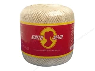 yarn & needlework: South Maid Crochet Cotton Thread Size 10 #429 Ecru